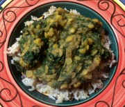 Spinach Dhal