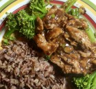 Pork Tenderloin In Black Bean Sauce With Broccoli