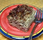 Apple Rhubarb Coffee Cake