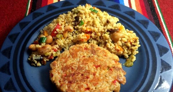 Salmon Rice Burgers
