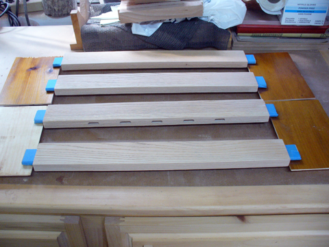 Craftsman Style Coffee Table - Part 6