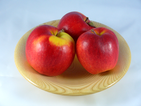 An Ash Fruit Bowl