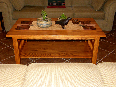 Craftsman Style Coffee Table Done Ravenview