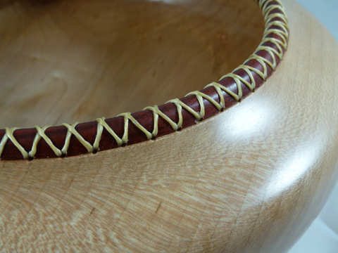 Southwest Bowl With Laced Rim