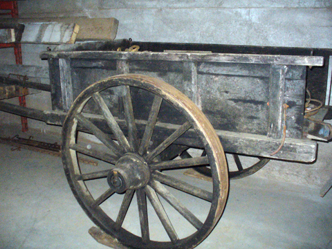 old horse cart
