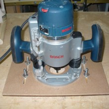 Simple Plunge Router Mortising Jig