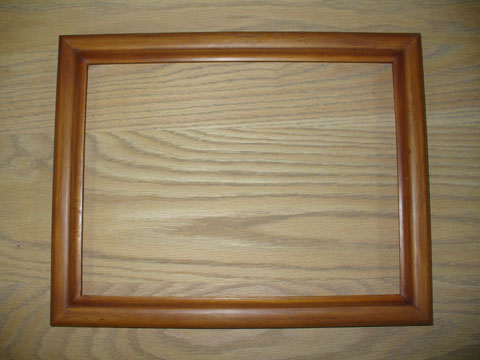 Copper Look Picture Frame