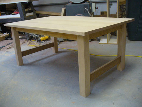 Craftsman Style Coffee Table Part 3 Ravenview