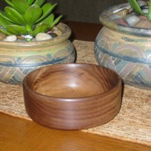 Turning A Wooden Bowl