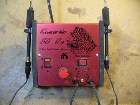 razortip woodburner