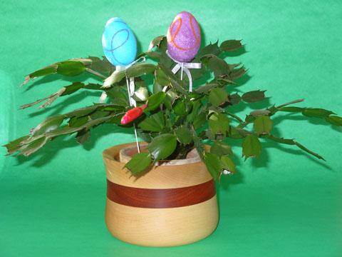 Easter Basket Flower Pot