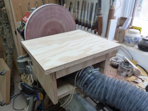 A Disk Sander For The Lathe