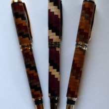 Three Segmented Pens