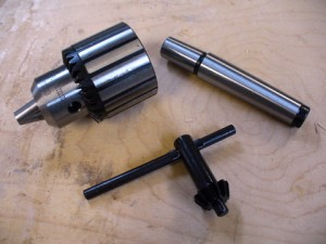 Drill Chuck And Morse Taper