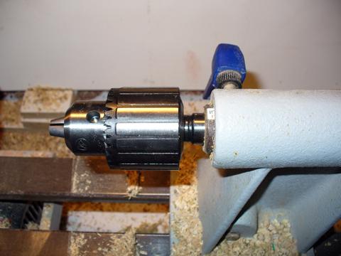 Drill Chuck And Morse Taper