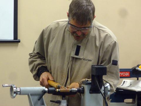 turning a sierra pen