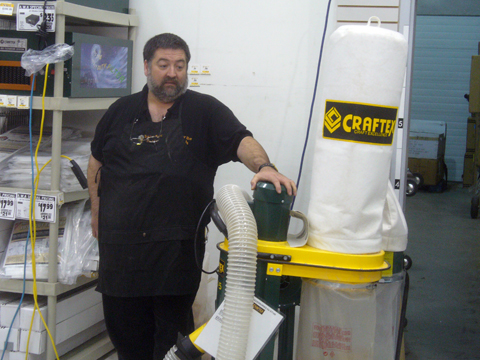 The AWA - Dust Collection At The Bee