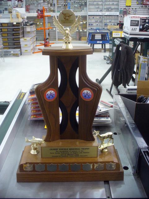 Gilbert Knickle Memorial Trophy