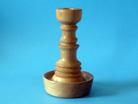 Candle Holder Spindle Work