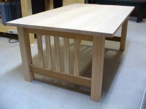Craftsman Style Coffee Table – Part 4
