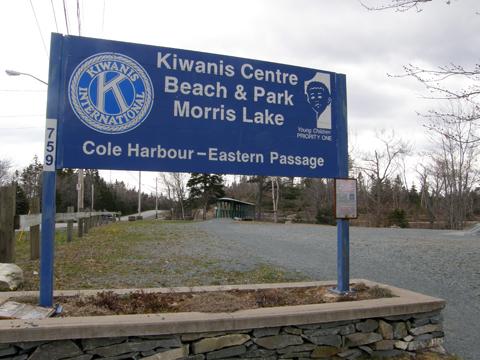 Caching At Morris Lake's Kiwanis Park