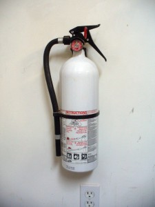 A Fire Extinguisher For The Workshop