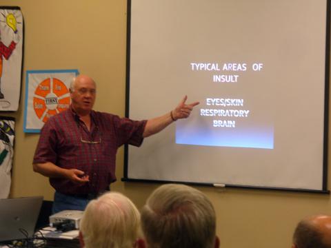 Wood Toxicity Talk At The AWA