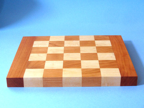 A Maple And Cherry Cutting Board