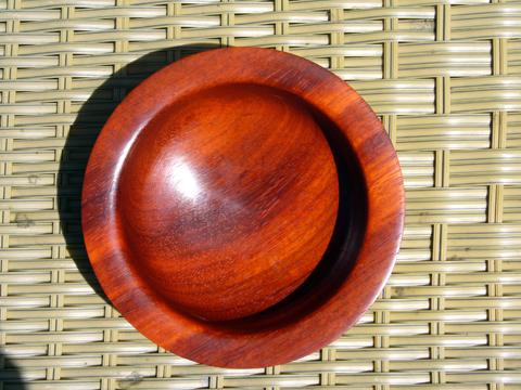 Pretty Padauk - A Bowl Of Fire