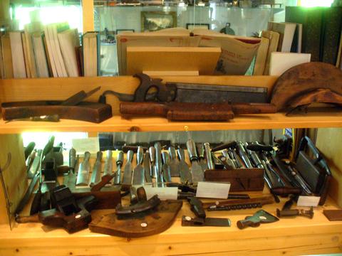 Tool History At Davistown Museum