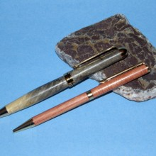 Buckeye Burl And Tulipwood Pens