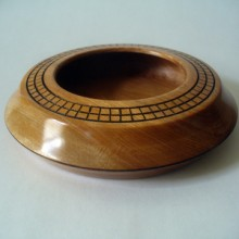 Birch Bowl With A Burned Ring Top