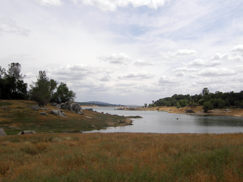Geocaching At Folsom Lake Park
