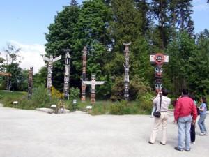The Totem Poles Of Totem Park