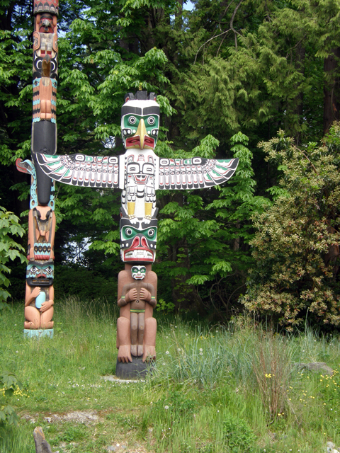 The Thunderbird House Post Of Totem Park