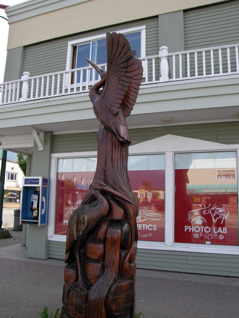 The chainsaw carving capital of canada ravenview