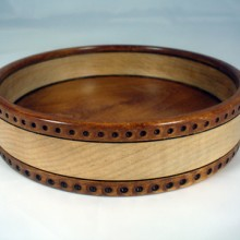 A Peyoke Drum Bowl Made Of Maple