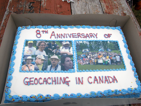 8th Anniversary Of Geocaching In Canada