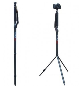 A Hiking Stick? A Tripod? Yes, It's Both!