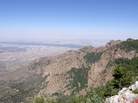 Geocaching At Sandia Mountain, NM