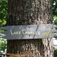 The Lake Charles Trail And Vivien's Way