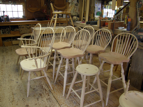 A Visit To Windsor Chairmakers