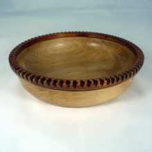 Peyoke Bowl With A Notched Rim