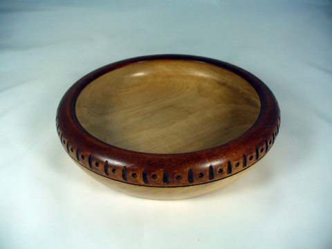Peyoke Bowl With A Notched Rim II