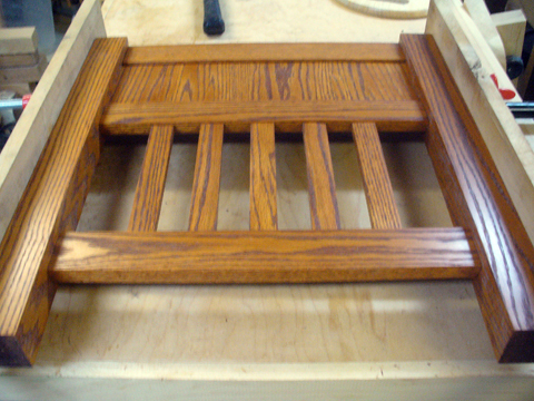 Craftsman Style End Tables