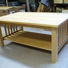Craftsman Style Coffee Table - Part 5
