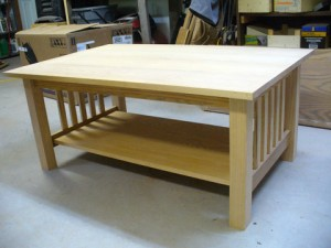 Craftsman Style Coffee Table – Part 5