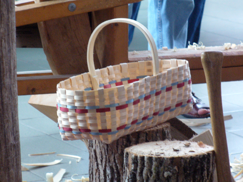A Great Day For Making Baskets