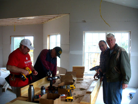 AWA woodworkers