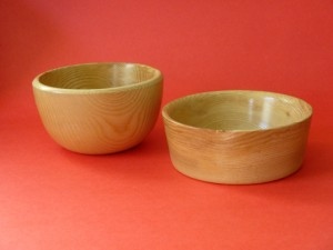 A Couple Of Simple Bowls Of Ash